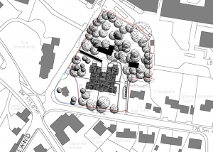 Apartment scheme, Claverton Down, Bath