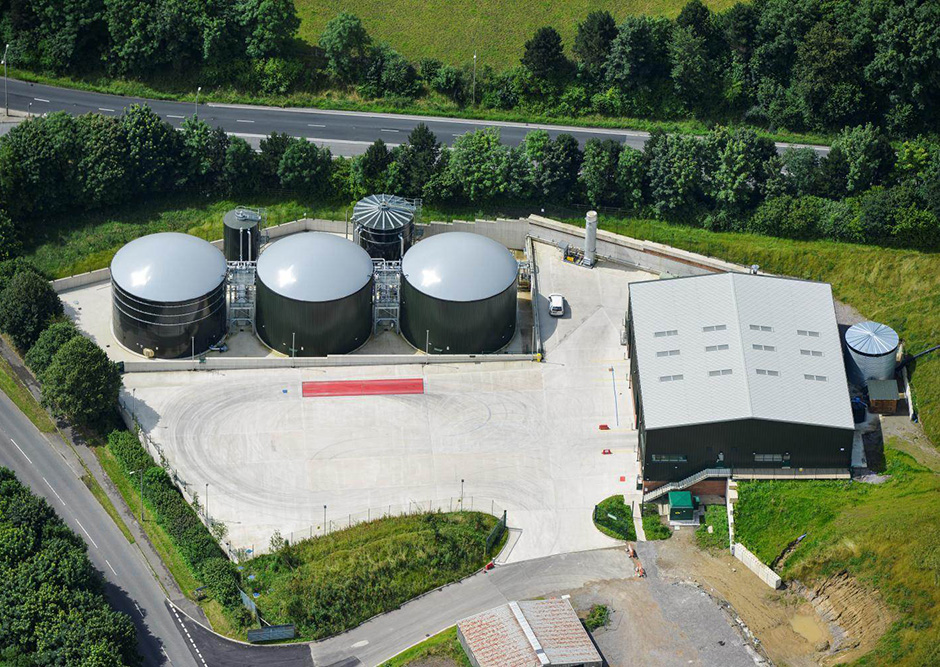 Bore Hill Farm biogas facility, Warminster