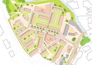 Masterplan for Innox Mills, Trowbridge