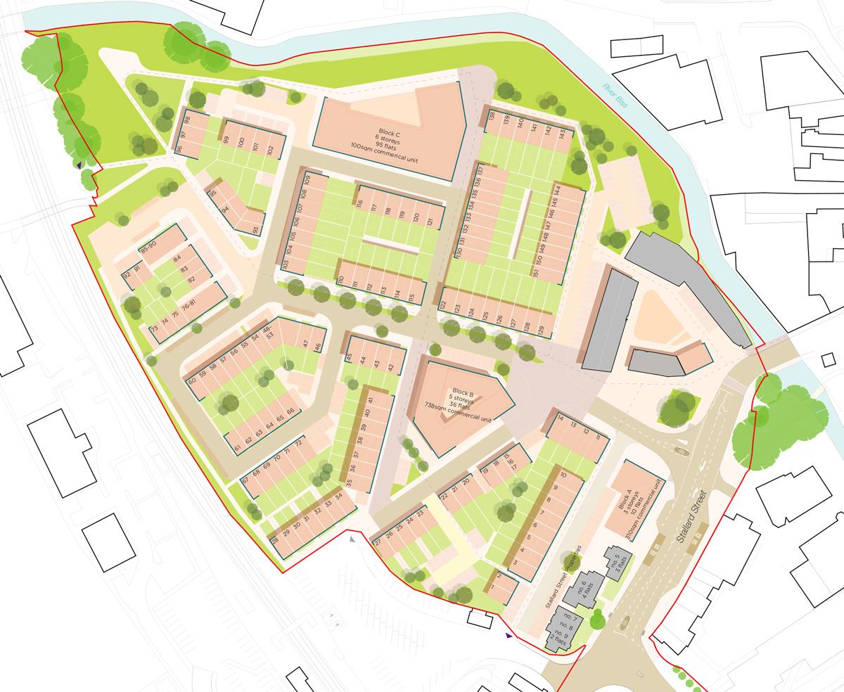 Masterplan for Innox Mills, Trowbridge