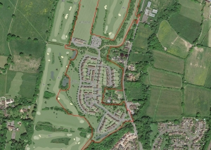 Hassocks Golf Club plan