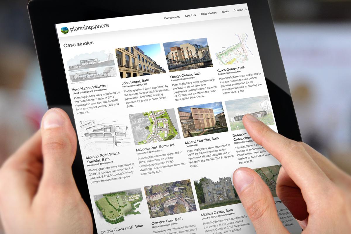 PlanningSphere case studies